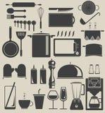 In de keuken stock illustratie