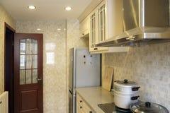 De keuken van de Chinees-stijl. Stock Afbeelding