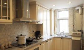 De keuken van de Chinees-stijl. Stock Afbeeldingen