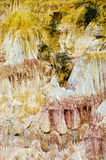 De keuken van de Hel, Marafa Canion, Kenia Royalty-vrije Stock Fotografie
