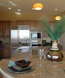 De Keuken van de luxe Stock Afbeeldingen