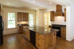 De keuken van de luxe Royalty-vrije Stock Afbeeldingen