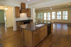 De keuken van de luxe Stock Foto