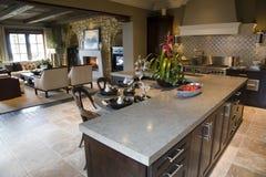 De keuken van de luxe Royalty-vrije Stock Fotografie