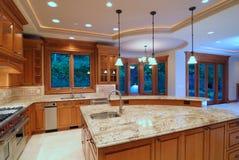 De Keuken van de ontwerper Royalty-vrije Stock Fotografie
