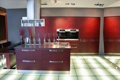 De keuken van de staaf Stock Foto's