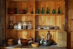 De keuken van de voorvader stock afbeelding