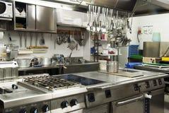De keuken van het hotel