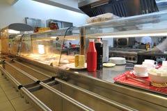 De keuken van het hotel Stock Foto's