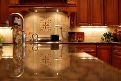 De Keuken van het miljoen dollar Stock Fotografie