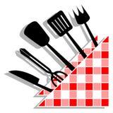De keuken van het ontwerp Stock Afbeeldingen