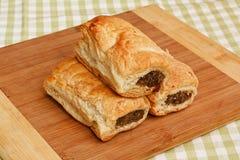 De keuken van het worstbroodje het plaatsen Royalty-vrije Stock Foto