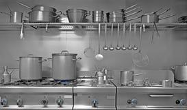 De keuken van Indrustrial Stock Afbeelding