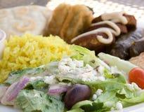 De keuken van Mediterranian royalty-vrije stock afbeeldingen