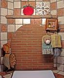 De keuken van mijn mum Stock Foto's