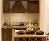 De keuken van Nice Stock Foto's