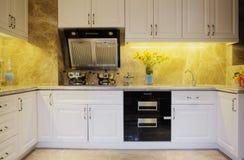 De keuken van Nice Stock Afbeeldingen