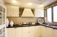 De keuken van Nice Royalty-vrije Stock Afbeelding