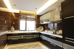 De keuken van Nice Royalty-vrije Stock Foto