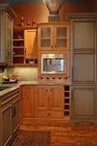De Keuken van Upscale Royalty-vrije Stock Foto's