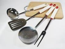 De keukenapparatuur stock foto