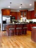 De keukenverticaal van Upscale stock fotografie