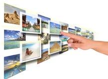 De keus van de vakantie. Stock Fotografie