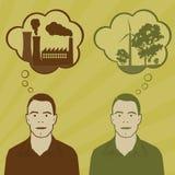 De keuzen van de energie Stock Afbeelding