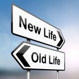 De keuzen van de levensstijl. Royalty-vrije Stock Afbeelding