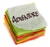 De keuzen van het leven - plaatsende prioriteiten - avontuur Royalty-vrije Stock Foto