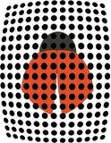 De kever van het lieveheersbeestje stock illustratie