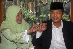 DE KIESdrempel VAN INDONESIË Stock Foto's