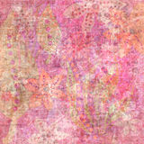 De kiezelachtige Tropische Boheemse Achtergrond van het Plakboek van het Tapijtwerk Stock Foto's