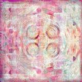 De kiezelachtige Tropische Boheemse Achtergrond van het Plakboek van het Tapijtwerk royalty-vrije stock afbeelding