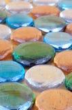 De kiezelstenen van het glas Royalty-vrije Stock Afbeeldingen