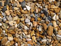 De kiezelstenen van het strand. Stock Foto