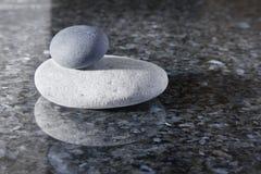De Kiezelstenen van Zen Stock Foto's