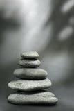 De Kiezelstenen van Zen stock fotografie