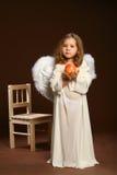 De kind-engel Stock Afbeelding