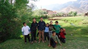 De kinderen glimlachen Royalty-vrije Stock Afbeelding