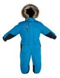 De kinderen snowsuit vallen Stock Foto's