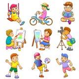 De kinderen spelen Royalty-vrije Stock Afbeelding