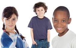 De kinderen van Adorables Stock Afbeelding
