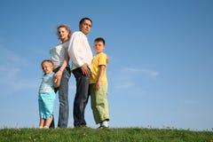 De kinderen van de familie wih Royalty-vrije Stock Foto's