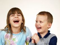 De kinderen van de groep Royalty-vrije Stock Fotografie