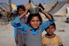 De kinderen van de school van India Stock Foto's