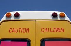 De Kinderen van de voorzichtigheid! Royalty-vrije Stock Afbeelding