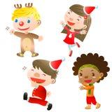 De kinderen van Kerstmis Royalty-vrije Stock Fotografie