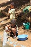 De Kinderen van Marokko Stock Foto
