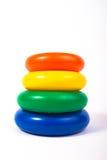 De kinderenstuk speelgoed van de piramide Royalty-vrije Stock Foto